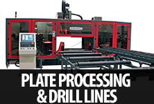 plate processing/ drill lines