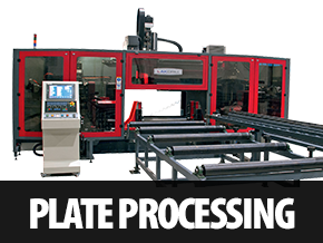 plate processing and drill lines