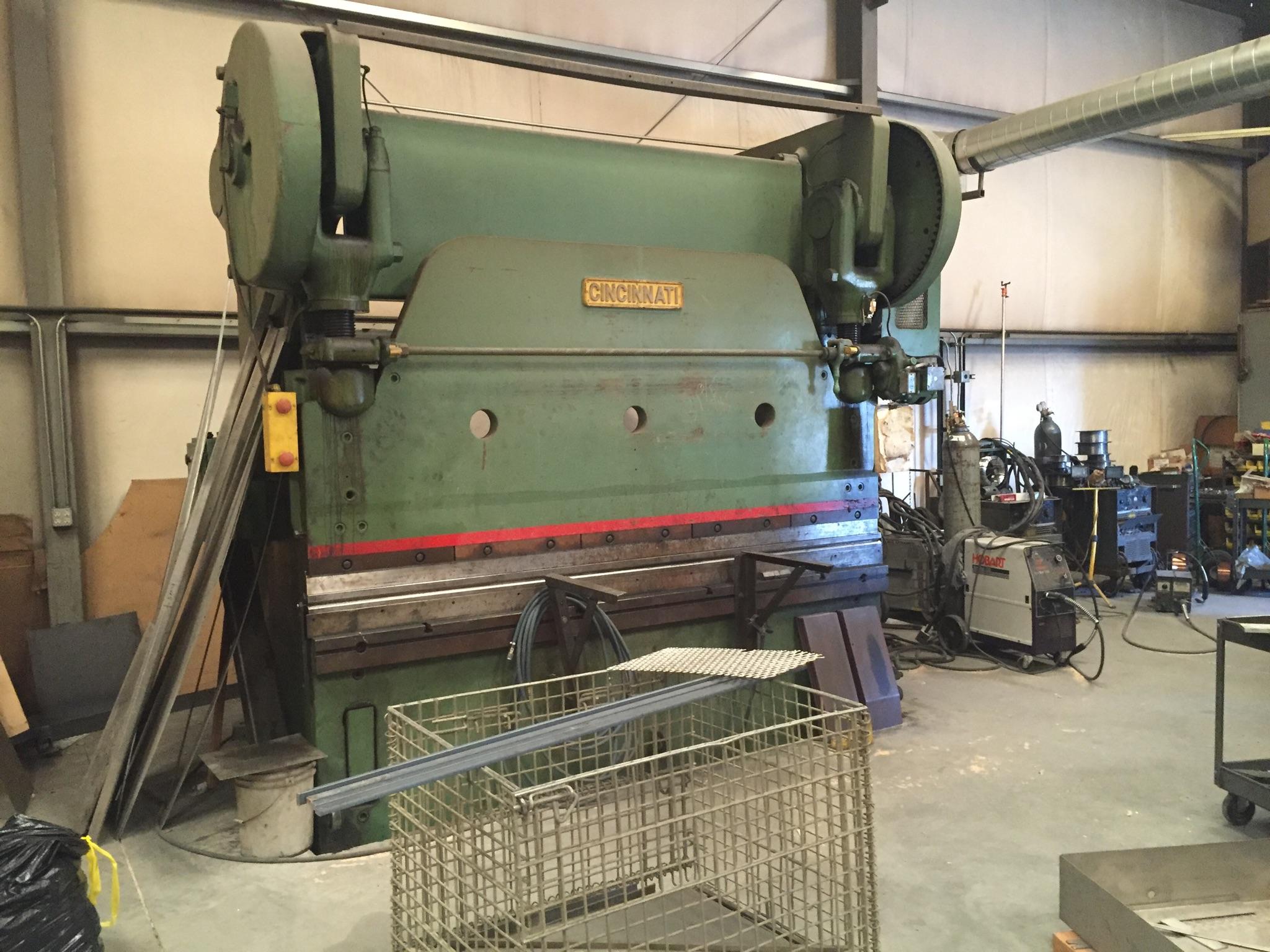Used Cincinnati Press Brake and More!